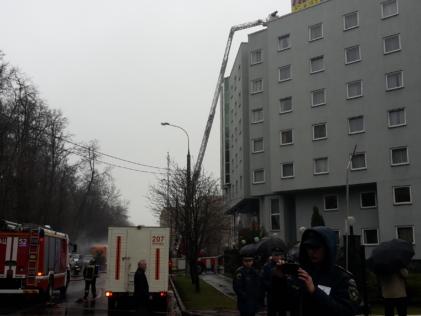 Пожарная охрана мероприятий. Учения в отеле Протон
